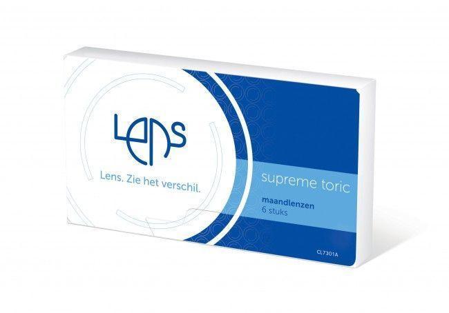 Lens Supreme Toric 6-pack