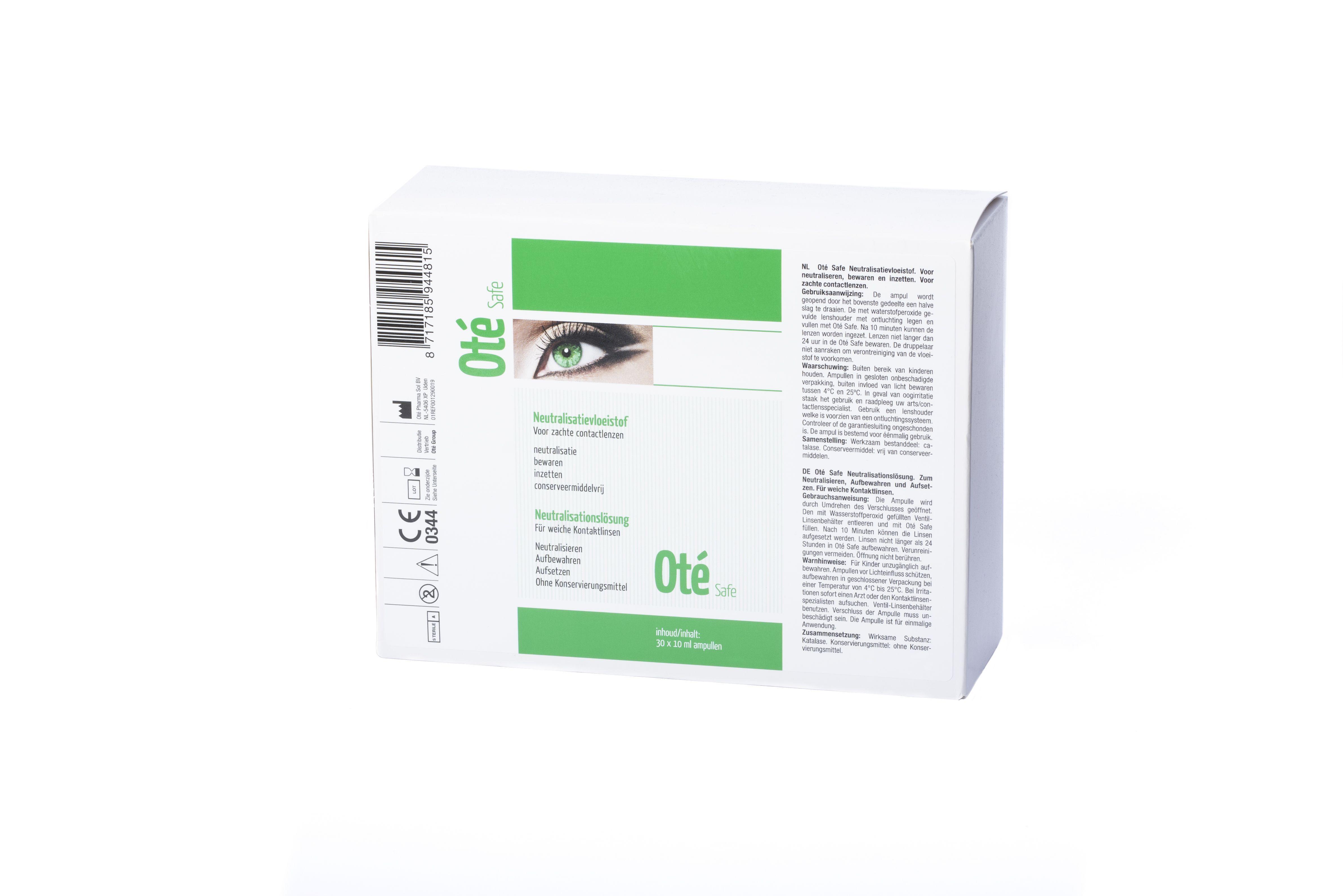 OTE Safe Ampullen (30 * 10 ML)